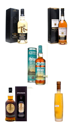 Burns Night whiskies - flight #2
